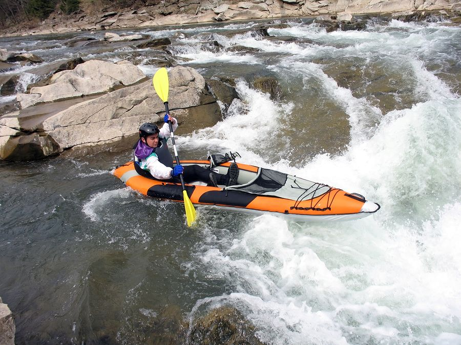 bigstockphoto_Whitewater_Rafter_4041910