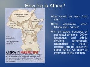 True size of africa compared