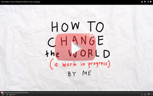 Kid President on how to change the world