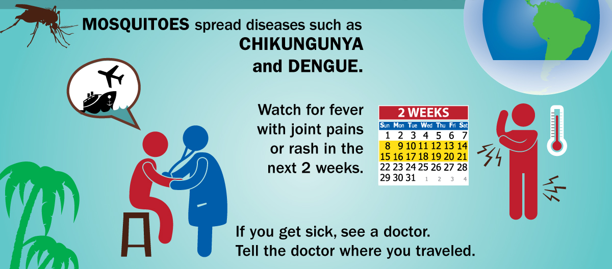 Chikungunya - CDC Travel Warning