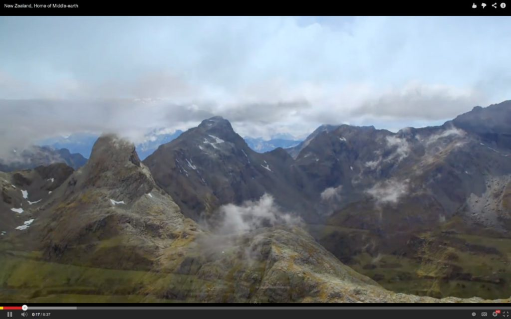 New Zealand Hobbit mountains YouTube