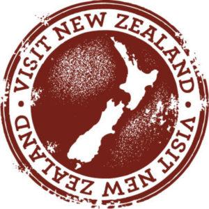 Visit New Zealand Hobbit stamp