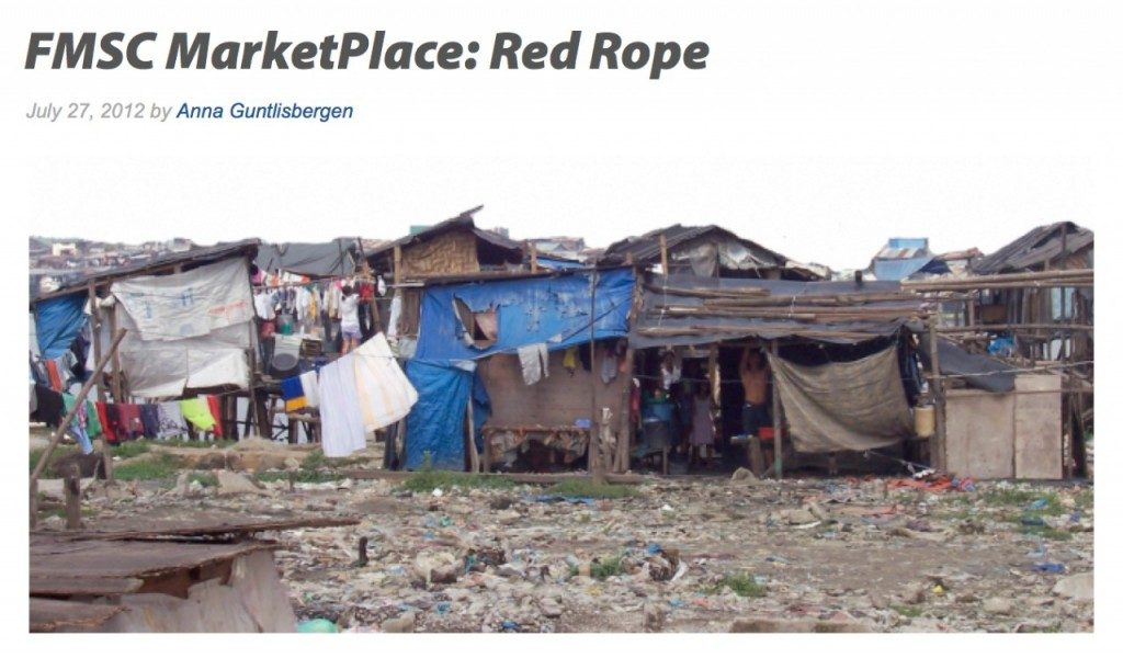 The Red Rope Co-op is a handsewn cooperative recognized by the Government of the Philippines