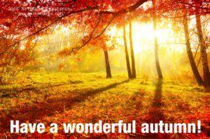 Have a great Fall season