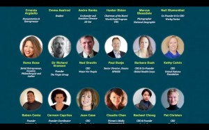 Change the World course speakers from the Social Good Summit