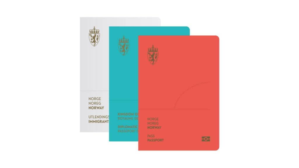 Norway Neue Design Studios re design passport