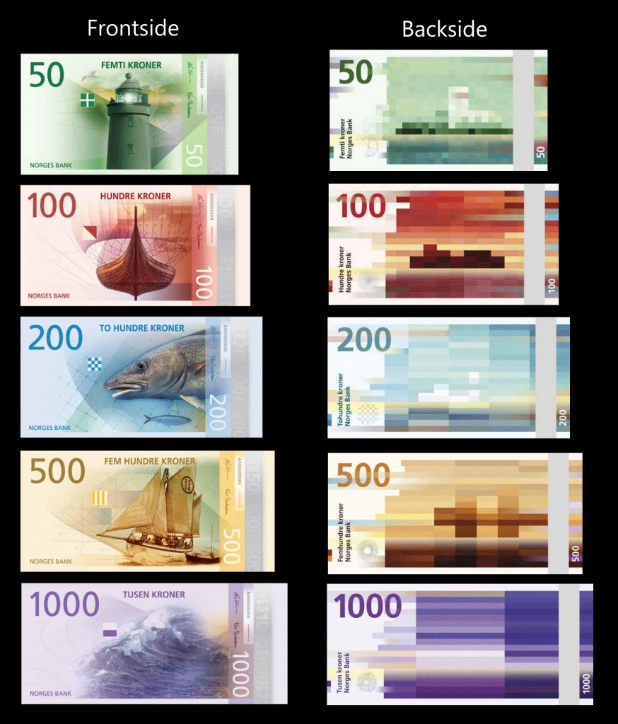 Norway best designed currency