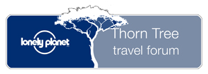 Lonely Planet thorn tree forum