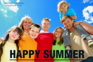Have a great summer - from Good Neighbor Insurance