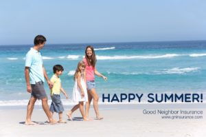Happy summer from Good Neighbor Insurance