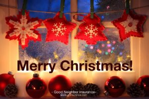 Merry Christmas from Good Neighbor Insurance