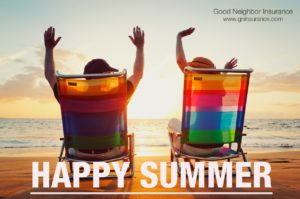 Have a great summer from Good Neighbor Insurance