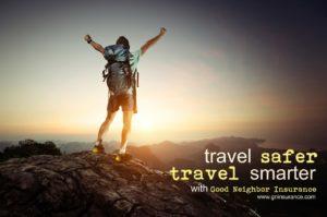 Travel safer with Good Neighbor Insurance
