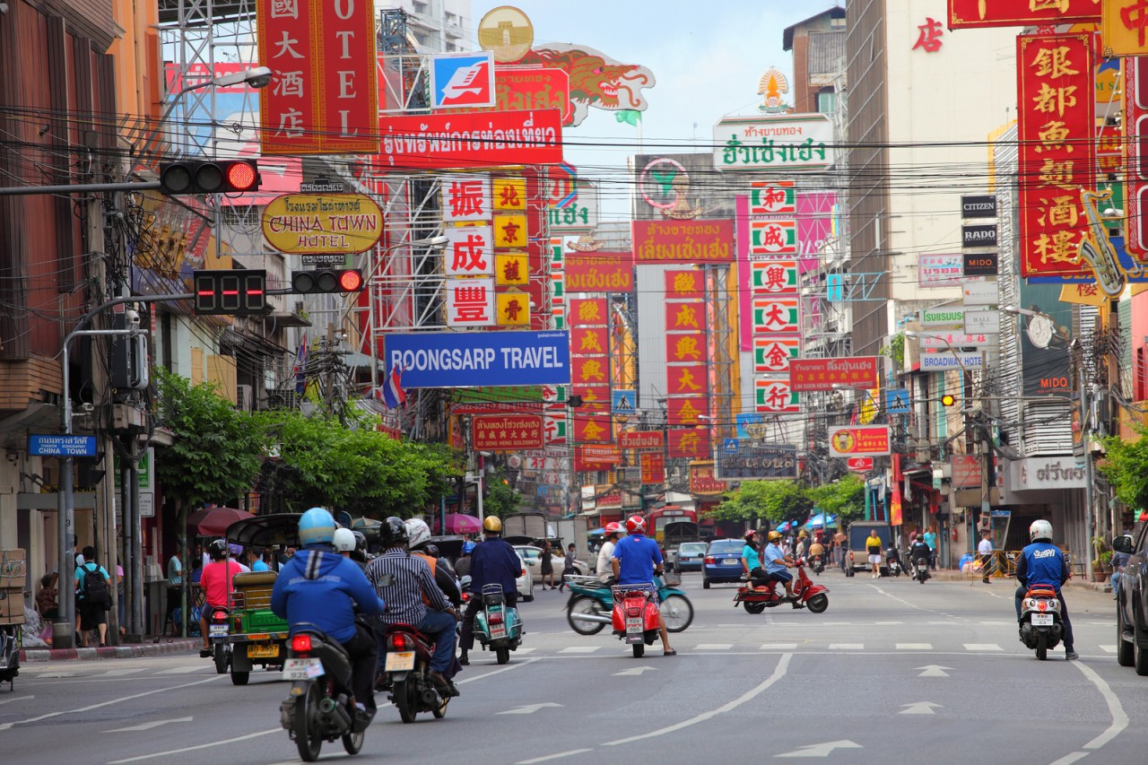 Motorcycles are the Primary form of transportation in Asia