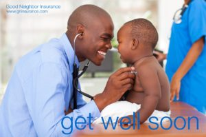 Get well soon - from Good Neighbor Insurance