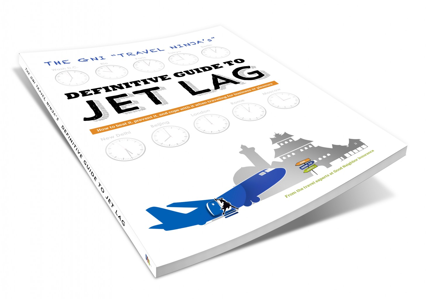 Free guide on Jet Lag How to beat it