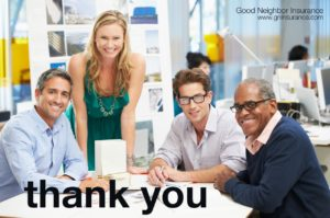 Thank you from GNI International brokerage firm