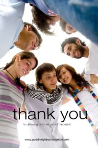 Thank you from your GNI team in Gilbert, Arizona