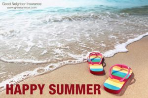 Have a great summer from your GNI international travel insurance brokerage firm in Gilbert, Arizona