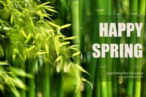 Have a happy spring season from Good Neighbor Insurance