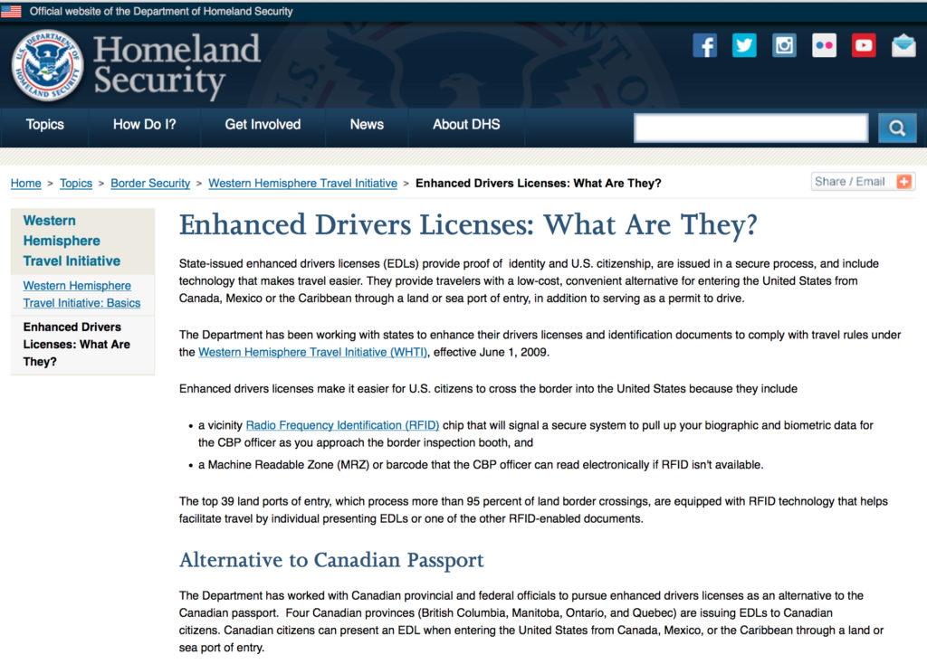 REALID drivers Licenses, enhanced drivers licenses what are they? TSA-approved to travel