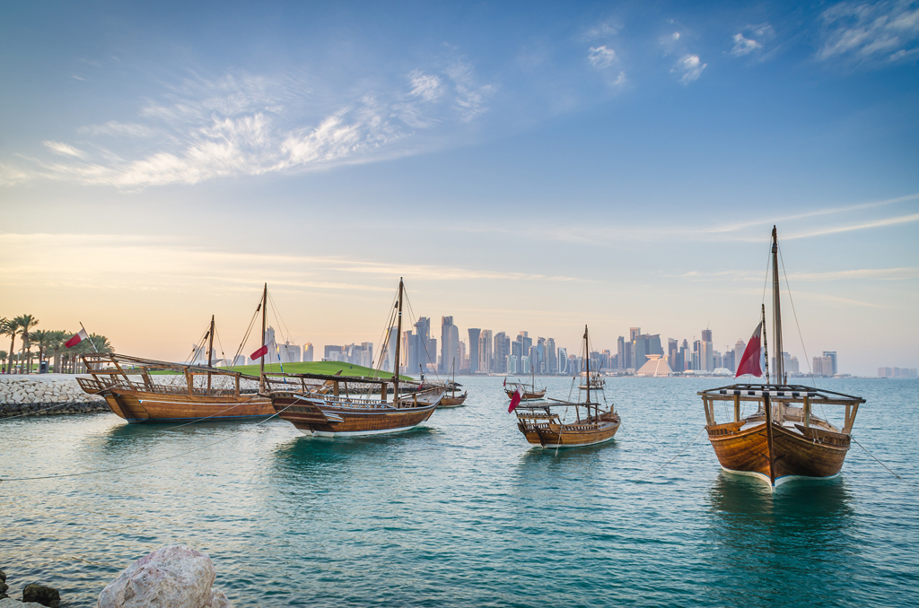 Qatar's polished image