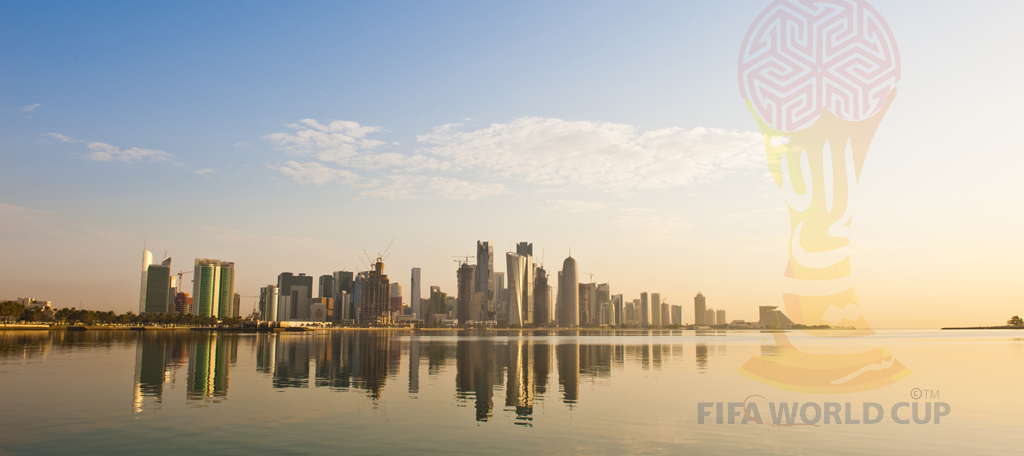 Qatar hosts the Fifa World Cup