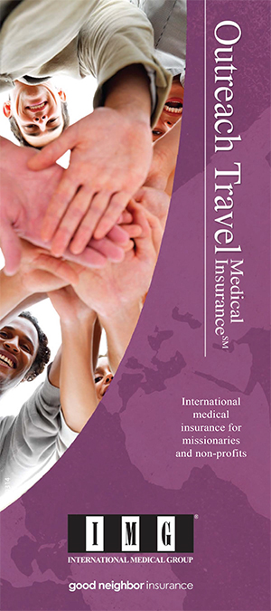 IMG Outreach Inernational Travel medical plan