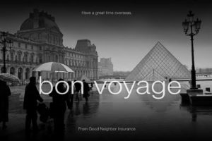 Bon Voyage from GNI - www.gninsurance.com