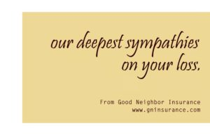 Our condolences to you and your family - from your GNI team