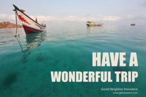 Travel insurance from Good Neighbor insurance