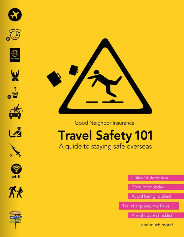 Some tips to avoid overseas theft from our travel safety guide