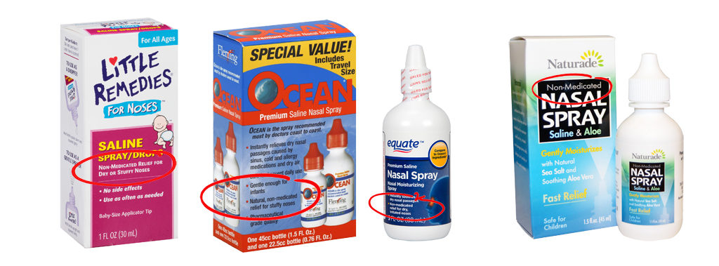 Non-medicated nasal sprays help stop colds and flus