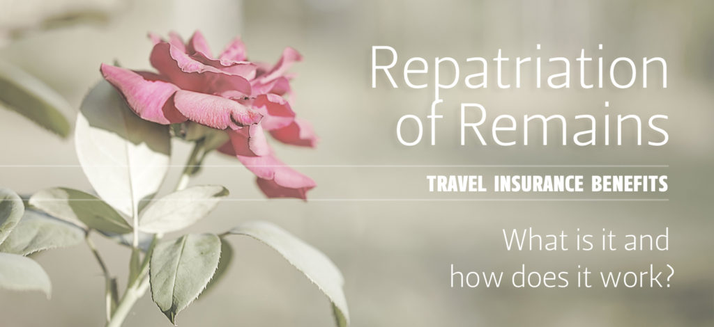 Title slide: Repatriation of Remains
