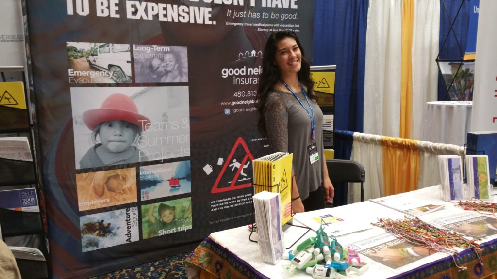 GNI booth - Lexington ICOM 2016