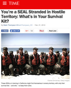 Navy SEALS bug out bag checklist