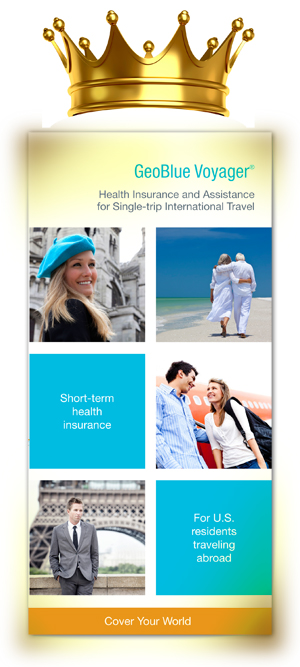 GeoBlue Voyager Choice Number One Travel Insurance plan