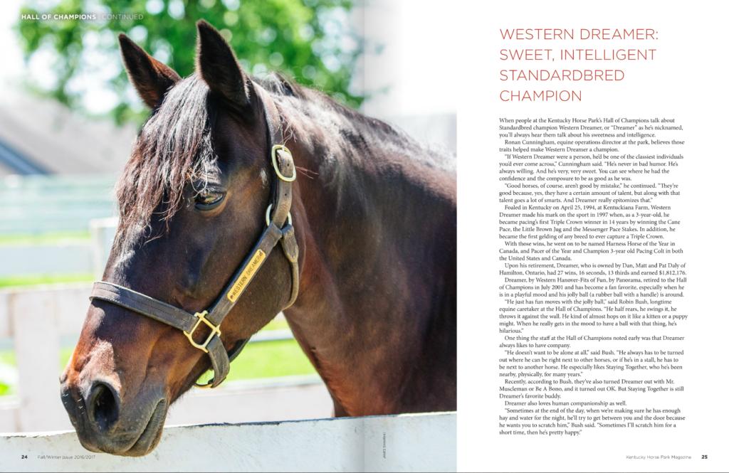 Kentucky Horse Park magazine