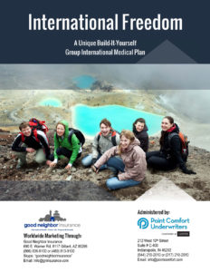 International travel insurance for groups - INTERNATIONAL FREEDOM PLAN