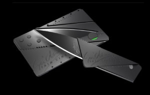 Ian Sinclair Cardsharp credit card knife