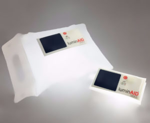 The Luminaid PackLite solar powered light