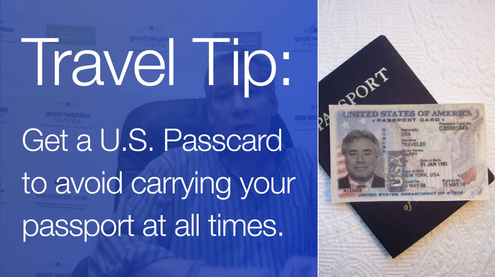Reasons for getting a U.S. Passport card or passcard