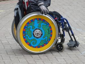 Travel with a wheelchair. Traveling with a disability