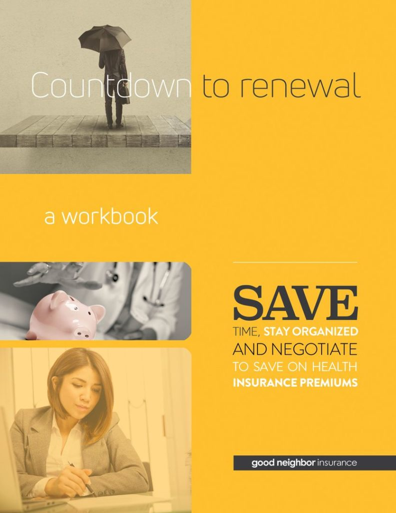 WORKBOOK How To Reduce Health Insurance Premiums