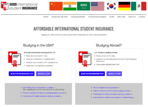 good international student insurance site