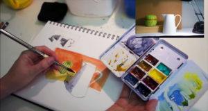 Liz Steel's Beginners Sketching Course
