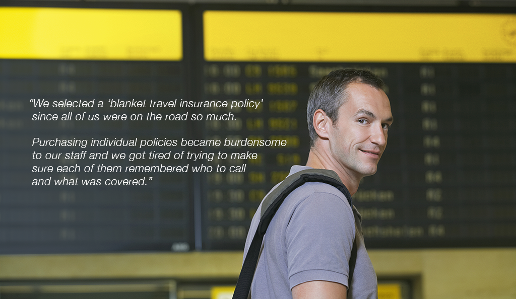 Quote about blanket travel insurance