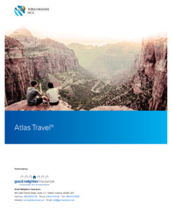 Atlas travel insurance with personal liability