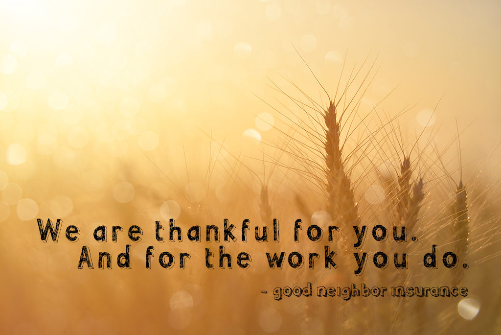 Thanksgiving abroad -What we are thankful for