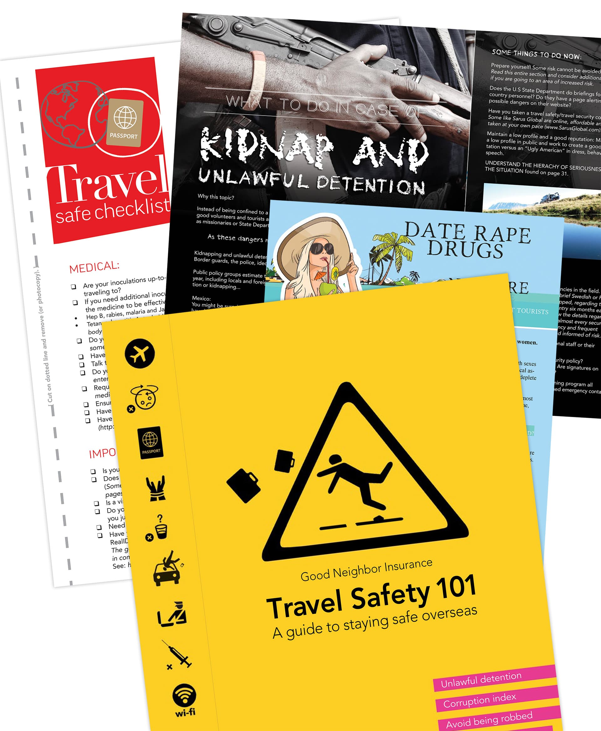 Free guide to travel safety 101